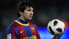 Messi'nin Barcelona'da attığı ilk gol