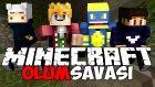 Minecraft ÖLÜM SAVAŞI !! (DeathRun) (3v1) - w/AzizGaming,Ozan Berkil,HappyLimon