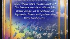 Hz. Osman (r.a)'ın yaşamı