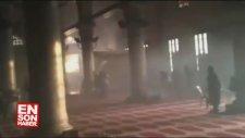 İsrail askerleri Mescidi Aksa'ya baskın Duzenledi