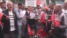 Beşiktaşlı taraftarlardan terör saldırılarına tepki