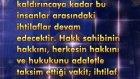 Şeyh Nazım Kıbrisi Hazretleri'nin 1981'de İstanbul Sultançiftliği'nde yaptığı sohbetten bir alıntı