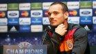 Sneijder: 'Şampiyonlar Ligi farklı bir arena'