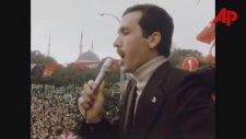 Recep Tayyip Erdoğan 1979 Yılında Mitingde Konuşuyor