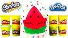 Shopkins Oyun Hamuru DEV Sürpriz Yumurta Açma Cicibiciler