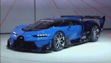 Bugatti Vision Gran Turismo | Frankfurt Otomobil Fuarı 2015