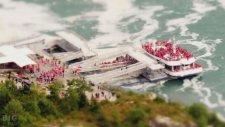 Muhteşem Timelapse Görüntüleriyle Minyatür Niagara Şelalesi