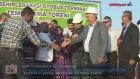 BDP Temel Atma Töreninde 10  Yıl Marşı Çalması