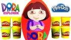 Kaşif Dora Oyun Hamuru DEV Sürpriz Yumurta Açma