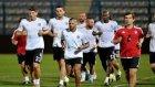 Beşiktaş, Skenderbeu maçının hazırlıklarını tamamladı