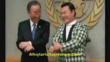 Ban Ki-mun Gangnam Style Denemesi