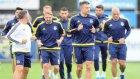 Fenerbahçe antrenmanına damga vurdular