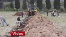 Maden Kazasında Ölenlerin Toplu Olarak Defnedilmesi