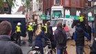 Hollanda sokaklarında holigan savaşları