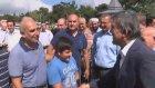 Abdullah Gül'le motosikletli gencin yol verme diyaloğu