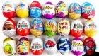 20 Sürpriz Yumurta Oyuncak Açma
