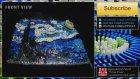 Van Gogh'un Eseri 7.000 Domino Taşıyla Yeniden Hayat Buldu
