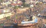Deprem Sonrası Gemilerin Yollara Çıkması  Şili