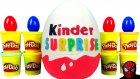 Kinder Oyun Hamuru DEV Sürpriz Yumurta Açma