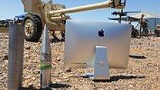 90mm Uçak Savar Mermisi ile iMac Vurulursa Ne Olur?