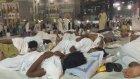 Hacı adayları Mescid-i Haram'dan ayrılmıyor