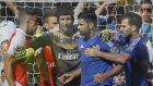 Chelsea - Arsenal derbisi yine gergin geçti