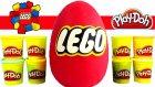LEGO Oyun Hamuru DEV Sürpriz Yumurta Açma Oyuncak Abi
