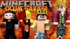 Minecraft ÖLÜM SAVAŞI !! #2 - HAKANI TROLLÜYOZ! w/Ahmet Aga,Wolvoroth Gaming,Türkçe Takıntılı Oyuncu