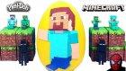 Minecraft Oyun Hamuru DEV Sürpriz Yumurta Açma
