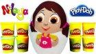 Niloya DEV Sürpriz Yumurta Oyuncak Açma Oyun Hamuru TV