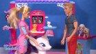 Ken, Barbie ve Hayvanlarına Yardım Ediyor!