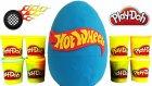 Hot Wheels Oyun Hamuru DEV Sürpriz Yumurta Açma Oyuncak Abi