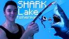 OĞLUMUN YÜZGECİ ÇIKTI! - Shark Lake Fisherman! (Gereksiz Oyunlar)