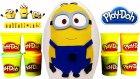 Dev Sürpriz Yumurta Açma Minyonlar Oyuncakları Oyun Hamuru Tv