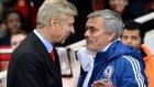 Wenger ve Mourunho Onları hiç böyle görmediniz