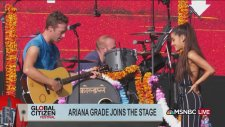 Coldplay & Ariana Grande - Just A Little Bit of Your Heart (Canlı Performans)