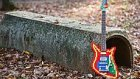 Legolardan Yapılmış Muhteşem Bir Gitar