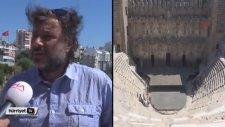Aspendos Antik Tiyatro Restorasyonuna Mutfak Mermeri Eleştirisi