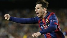 Messi alev aldı