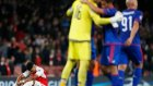 Arsenal 2-3 Olympiakos - Maç Özeti (29.9.2015)