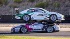 Yarış Sırasında Üst Üste Park Eden Porsche'lar