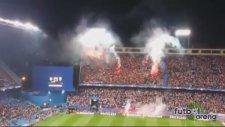 Benficalılar Calderon'u yaktı