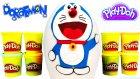 Doraemon Dev Sürpriz Yumurta Açma LPS Zelfs Barbie Oyuncakları Oyun Hamuru TV
