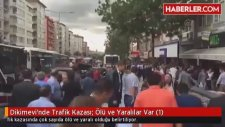 Ankara Dikimevi'nde Kaza Anı 12 Ölü 8 Yaralı Var Olay Yerinden İlk Görüntüler 01.10.2015