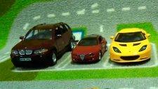 Arabalar - Çocuk Şarkısı - 5 Oyuncak Araba (     )