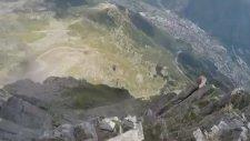 Çılgın Wingsuit Uçuşu