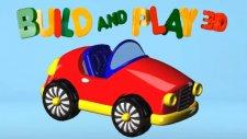 Çizgi film 3D - Yap Oyna (Build and Play)  - Spor araba (cabrio)