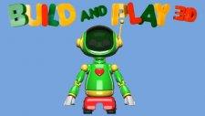Çizgi Film 3D - Yap ve oyna  ROBOT (Build and Play) - Robot -  -