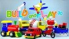 Çizgi film Build and play tüm bölümler bir arada : Araba, Traktor, Uçaklar, Gemi...