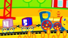 Çizgi film - Çuf çuf tren (Bebekler için video)
